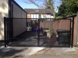 Aluminum Double Swing Gates