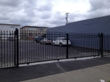 Double Aluminum Sliding Gate