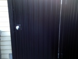 aluminum-black-powder-coated-man-gate