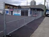 Chainlink Fence and Sliding Gate