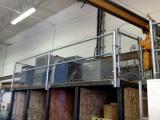 mezzanine-chain-link-fence