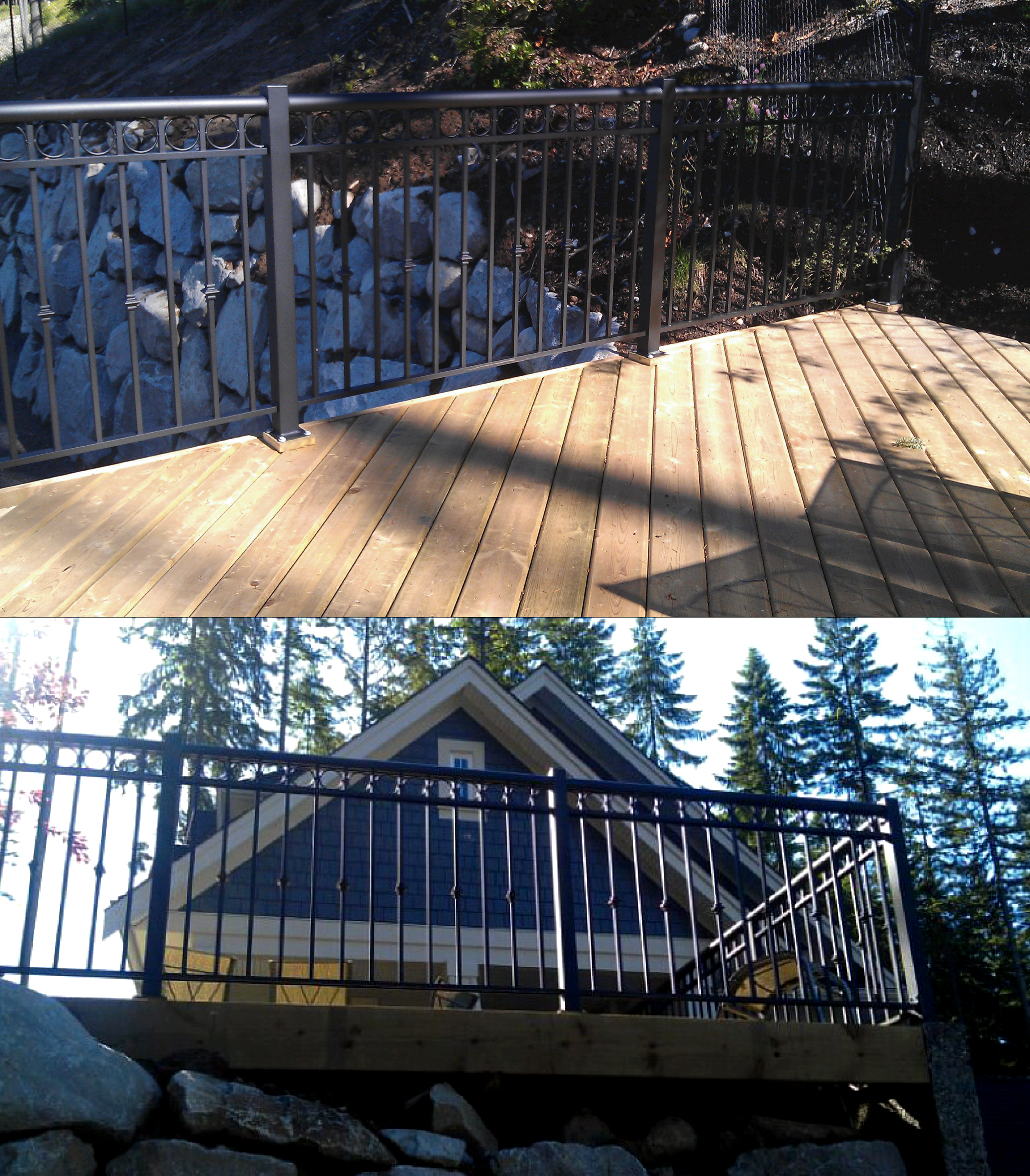 Aluminum fence vancouver gate qs fencing ltd