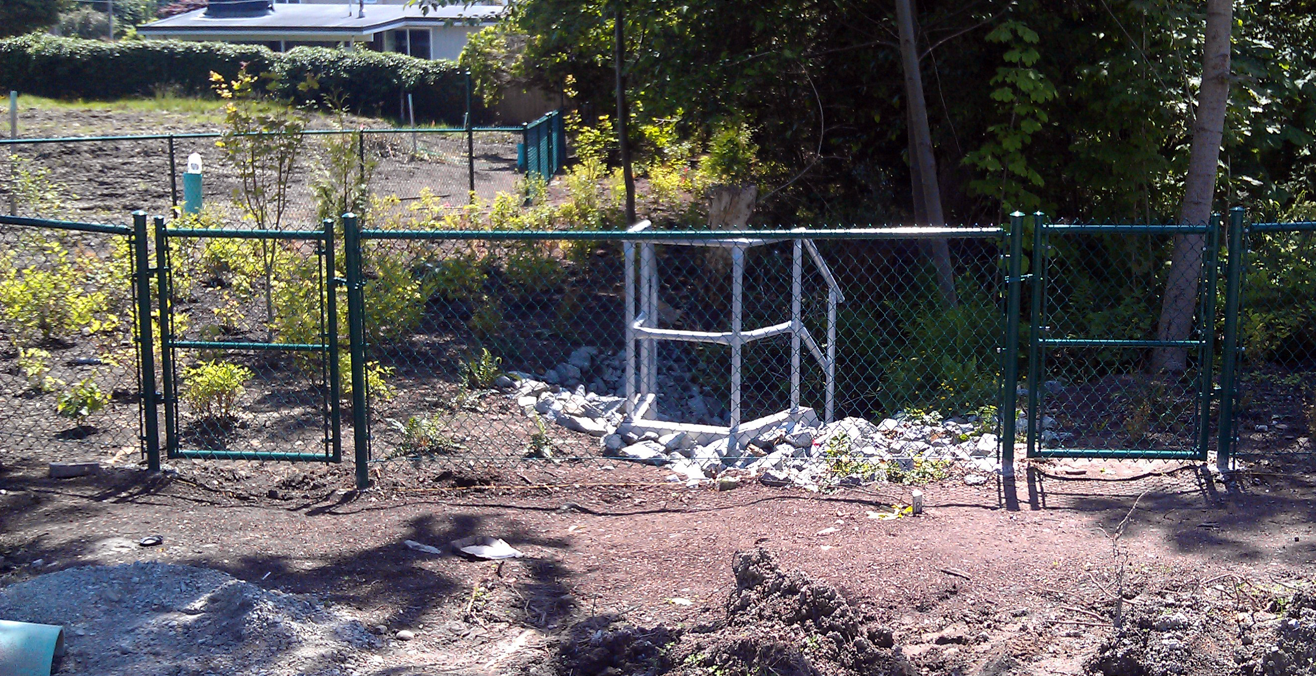 Chain Link Fence Company Chainlink Fence Vancouver Wire