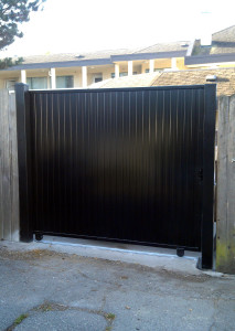 Private Aluminum Sliding Gate