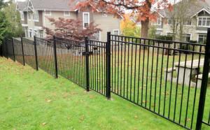 Surrey Metal Fence Installation