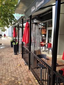Restaurant fences Vancouver